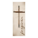 Celebration Banners F4016 Lenten Series X-Stand Banner - Forgiven