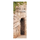 Celebration Banners F4018 Lenten Series X-Stand Banner - He is Risen