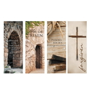 Celebration Banners F4019 Lenten Series X-Stand Banners - Set of 4
