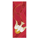 Celebration Banners F4036 Symbols Of The Liturgy Series X-Stand Banner - Dove