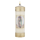 Will & Baumer F4107 Devotional Candle - Our Lady of Gudalupe