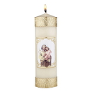 Will & Baumer F4108 Devotional Candle - St. Joseph and Child