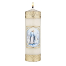 Will & Baumer F4109 Devotional Candle - Our Lady of Grace