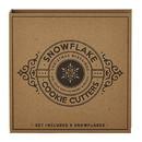 Faithworks F4140 Snowflake Cookie Cutter Set