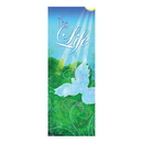 Celebration Banners F4448 Life in Christ Series X-Stand Banner - The Life