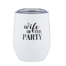 Christian Brands F4477 Stemless Wine Tumbler - Wife of the Party