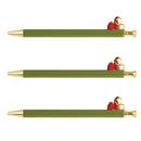 Christian Brands F4509 Holiday Tassel Pens - Green