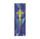 Celebration Banners F4531 Symbols of Liturgy Series X-Stand Banner - Star of Bethlehem