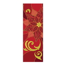 Celebration Banners F4533 Symbols of Liturgy Series X-Stand Banner - Poinsettia