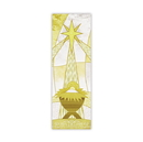 Celebration Banners F4534 Symbols of Liturgy Series X-Stand Banner - Nativity Star