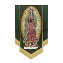 Celebration Banners F4545 Our Lady of Guadalupe Banner