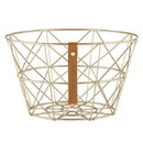 Christian Brands F4553 Gratitude - Wire Baskets - Gold-Circle