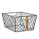 Christian Brands F4556 Gratitude - Wire Baskets - Black-Rectangle