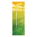 Celebration Banners F4694 Welcome Series X-Stand Banner - Summer