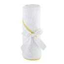 Stephan Baby F4719 Hooded Towel - Yellow Trim