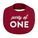 Stephan Baby F4721 Veggie Bib - Party of One, 3-12 months