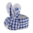 Stephan Baby F4812 Boo-Bunnie® - Blue Gingham