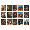 Christian Brands F4910 Stations of the Cross Banners - Set of 15