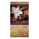 Celebration Banners F4923 3' x 5' Easter Series Banner - Alleluia He is Risen
