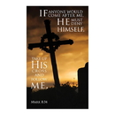 Celebration Banners F4927 3' x 5' Promise Series Banner - Take up His Cross