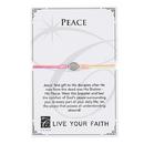Creed F4986 Live Your Faith - Peace Bracelet - Multi