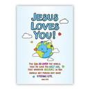 Christian Brands G0071 Large Poster - Jesus Loves You!