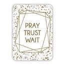 Christian Brands G0142 Verse Card - Pray Trust Wait