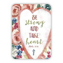 Christian Brands G0145 Verse Card - Be Strong Take Heart