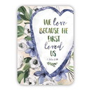 Christian Brands G0146 Verse Card - He First Loved Us