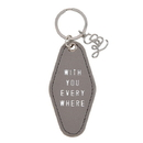 Christian Brands G0208 F2F Leather Motel Key Tag - With You Everywhere