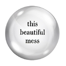Christian Brands G0229 F2F Paper Weight - This Beautiful Mess