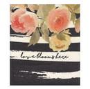 Faithworks G1267 Organic Dishcloth - Love Blooms Here