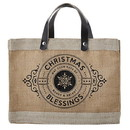 Faithworks G1333 Mini Market Tote - Christmas Blessings