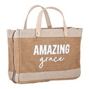 Faithworks G1338 Bible Cover Tote - Amazing Grace