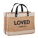Faithworks G1339 Bible Cover Tote - Loved