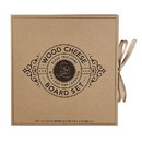 Faithworks G2041 Cardboard Wood Paddle Cheese Board Set - Bless this Home