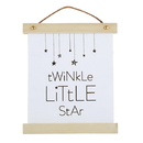 Stephan Baby G2210 Canvas Sign - Twinkle Little Star