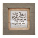 Heritage G2258 Natural Expressions - Photo Frame - Inspirational - Faithful Servant