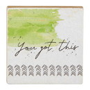 Christian Brands G2302 It Is Well - Tabletop Plaque - You Got This