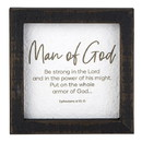 Heritage G2322 All About Dad - Framed Tabletop - Inspirational - Man of God