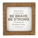 Heritage G2323 All About Dad - Framed Tabletop - Inspirational - Man of Faith