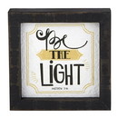Heritage G2332 Graduation Good Vibes - Framed Tabletop - Inspirational - Be the Light