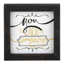 Heritage G2334 Graduation Good Vibes - Framed Tabletop - You are Amazing