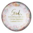 Christian Brands G2367 Summer Fields - Glass Dome Paperweight - Inspirational - God Watching