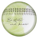 Christian Brands G2368 It Is Well - Glass Dome Paperweight - Inspirational - Be Still