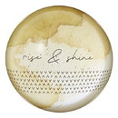 Christian Brands G2371 It Is Well - Glass Dome Paperweight - Rise & Shine