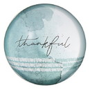 Christian Brands G2372 It Is Well - Glass Dome Paperweight - Thankful