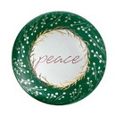 Christian Brands G2376 Glass Dome Paperweight - Holiday Greetings - Peace