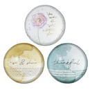 Christian Brands G2379 Pack Smart - Glass Dome Paperweights - 6pcs