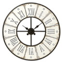 Christian Brands G2409 Decorative Accents - Wall Clock - Round - White Washed
